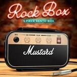 5-tlg. Lunchbox Set Rockstar mit Besteck
