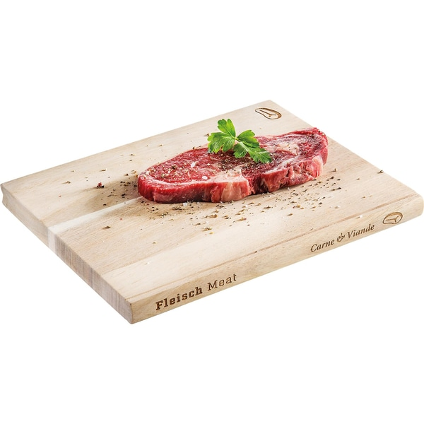 Donkey Products Akazienholz Schneidebrett Cooking Library Meat