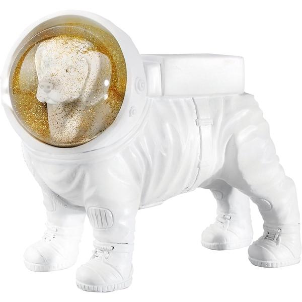 """Donkey Products Dekofigur """"Space Dog"""" 13.5 x 5.2 cm"""