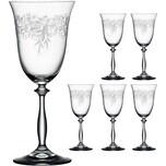 "BOHEMIA Selection 6er-Set Rotweinglas ""Romance"" 350ml"