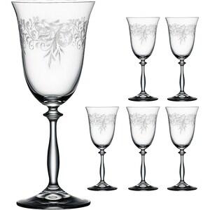 Bohemia Selection 6er-Set Rotweinglas Romance 350ml