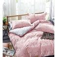Good Morning Bedlinens Satin-Bettwäsche Flamingo