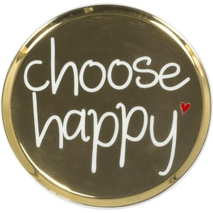 Mea Living Untertasse Choose happy Ø 10cm