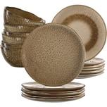 LEONARDO 18-tlg. Keramik Set MATERA sand