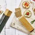 Birkmann 3-tlg. Backröhren Set Easy Baking für Partybrote Dreieck Kreis Quadrat antihaftbeschichte
