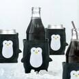 4er-Set Getränkekühler Pinguin