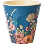 Rice Melamin Trinkbecher Flower Collage H9 cm