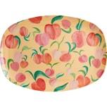 rice Melamin Servier-Teller Peach 30x22cm