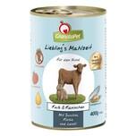 GranataPet Lieblingsmahlzeit Kalb und Kaninchen Hundefutter 6x400g