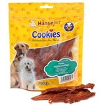 Hansepet Hundesnack Cookies Delikatess-Hähnchenfilet