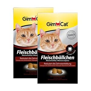 Gimcat Fleischbällchen 2x100g Katzensnack
