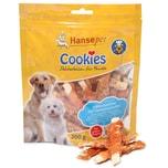 Hansepet Hundesnack Cookies Delikatess-Hähnchenfilet mit Seelachsstreifen