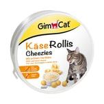 GimCat KäseRollis Runddose Katzensnack 50g