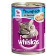 Whiskas Adult 1+ mit Thunfisch in Terrine 12x400g Katzenfutter