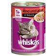 Whiskas Adult 1+ mit Rind & Leber in Sauce 12x400g Katzenfutter