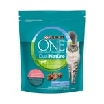 PURINA ONE DUAL NATURE Adult Lachs mit Spirulina 750g