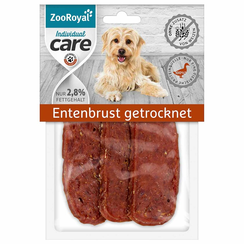 ZooRoyal Individual care Entenbrust getrocknet