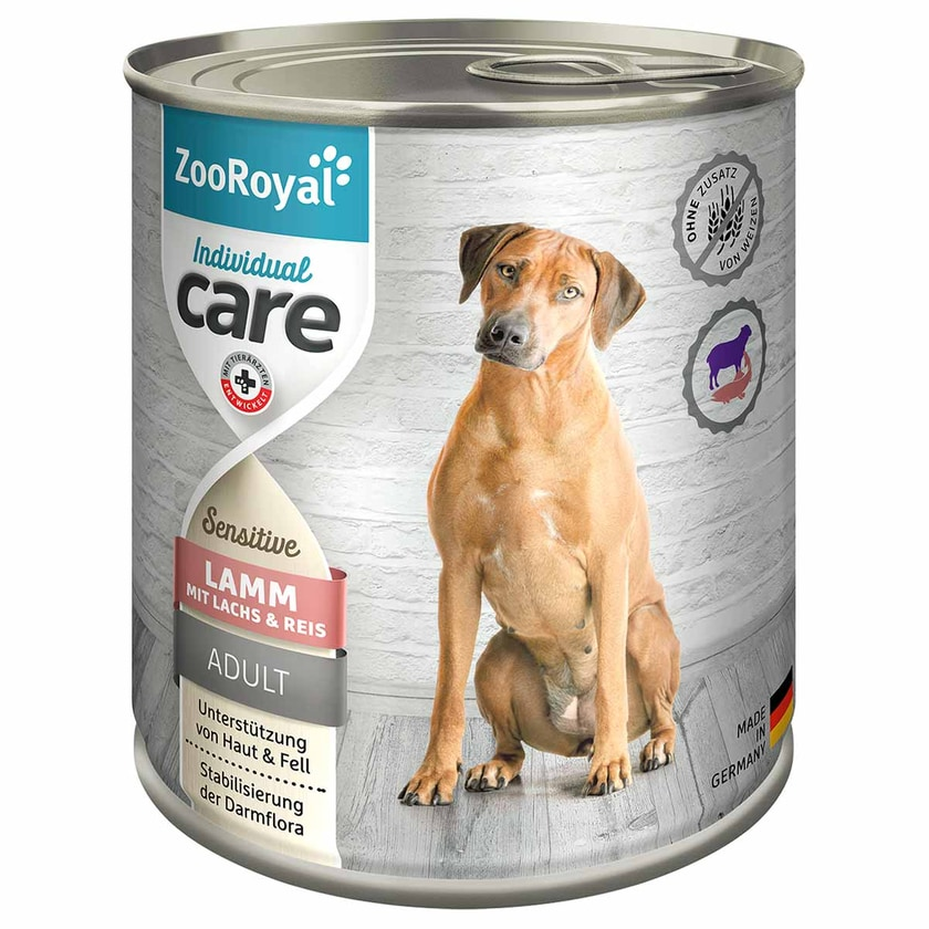 ZooRoyal Individual care Sensitive Lamm mit Lachs und Reis