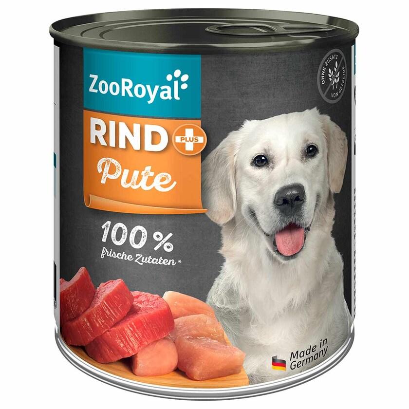ZooRoyal Rind + Pute 800g