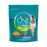PURINA ONE DUAL NATURE Adult Huhn mit Spirulina 750g