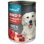 ZooRoyal Rind + Multifleischcocktail Hundefutter 400g