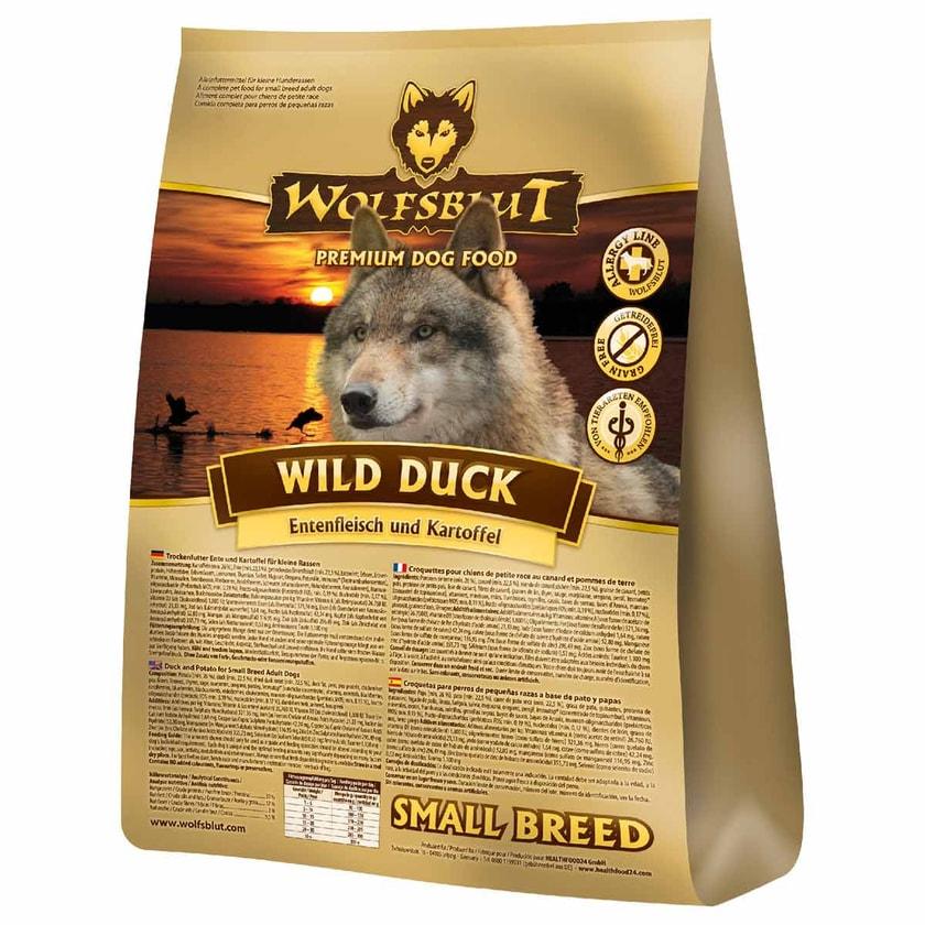 Wolfsblut Wild Duck Small Breed Hundefutter 2kg