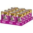 Whiskas Adult 1+ mit Geflügel in Sauce 12x400g Katzenfutter