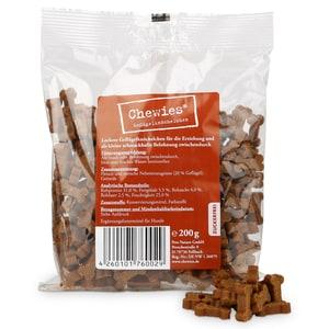 Chewies Geflügelknöchelchen Hundesnack 200g