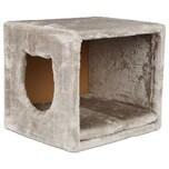 Trixie Kuschelhöhle für Regale lichtgrau 37x33x33 cm