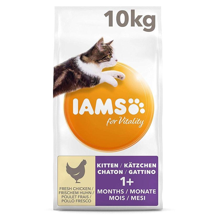 IAMS Katzenfutter Trockenfutter mit Huhn 2x10kg verschiedene Sorten