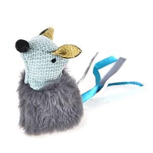 ZooRoyal Maus mit Katzenminze Petrol
