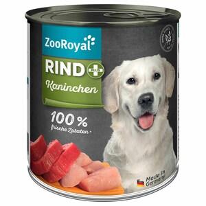 ZooRoyal Rind + Kaninchen 800g
