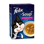 FELIX Soup Gesmischte Vielfalt mit Rind, Huhn und Thunfisch