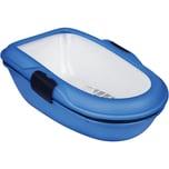 Jollypaw Katzentoilette 39x22x59cm blau