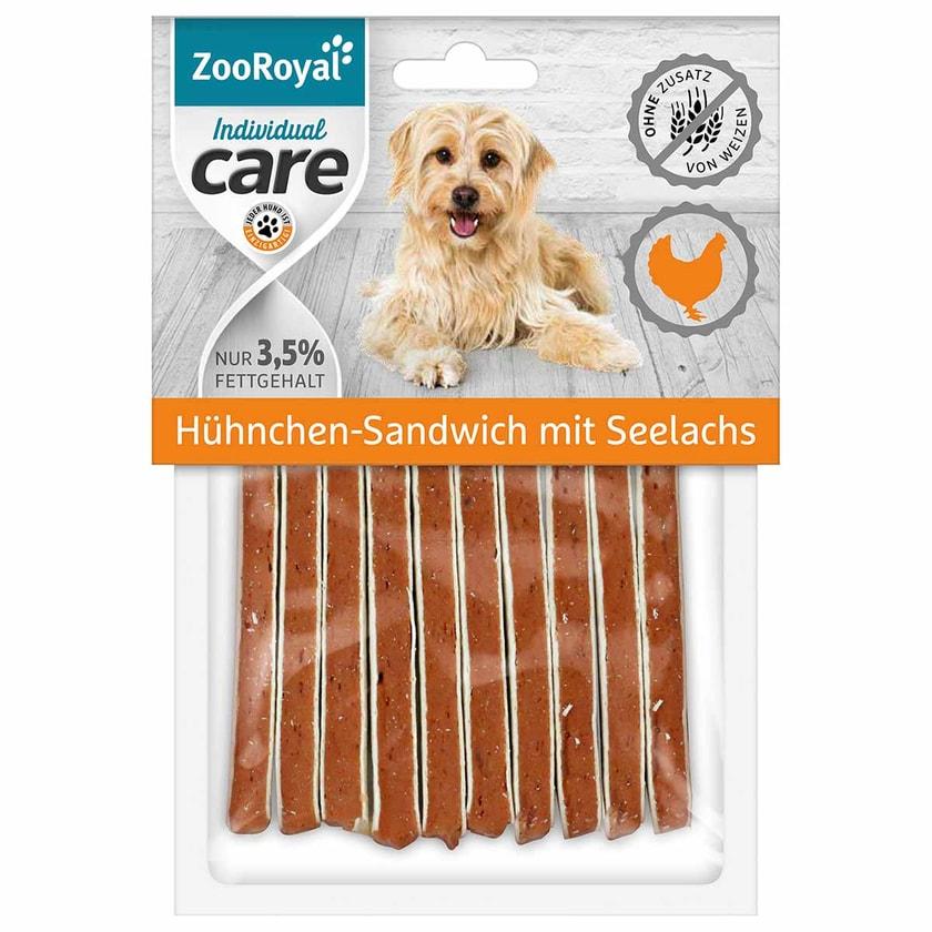 ZooRoyal Individual care Hühnchen-Sandwich mit Seelachs