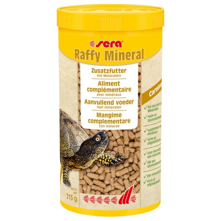 Sera Futter, Schildkrötenfutter Raffy Mineral