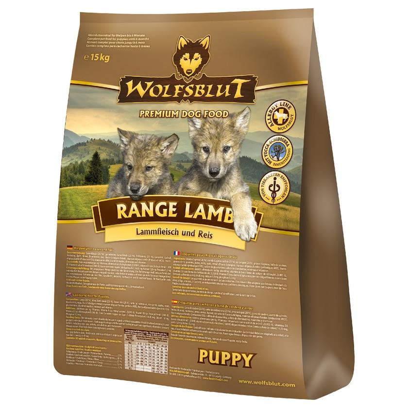 Wolfsblut Range Lamb Puppy Hundefutter 2x15kg Sparangebot
