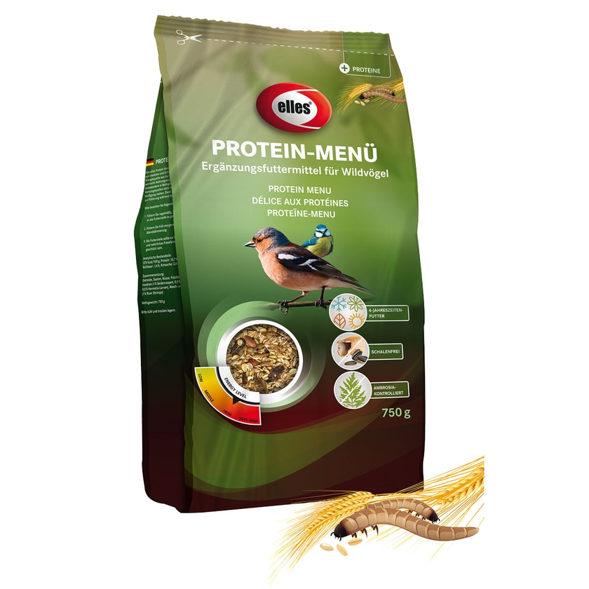 elles Wildvogel-Streufutter Protein-Menü