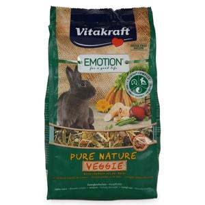 Vitakraft Emotion Pure Nature Veggie Zwergkaninchen 600g Kaninchenfutter