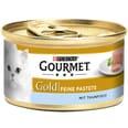 Gourmet Gold Feine Pastete Thunfisch Katzenfutter 12x85g