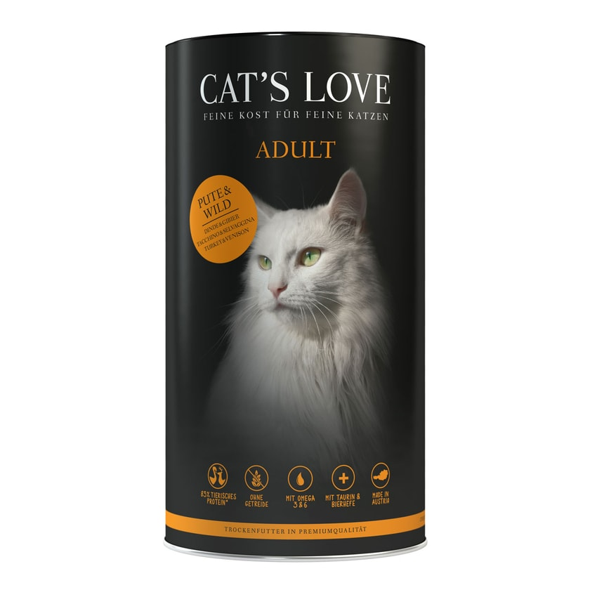 Cat's Love Adult Pute und Wild 1kg