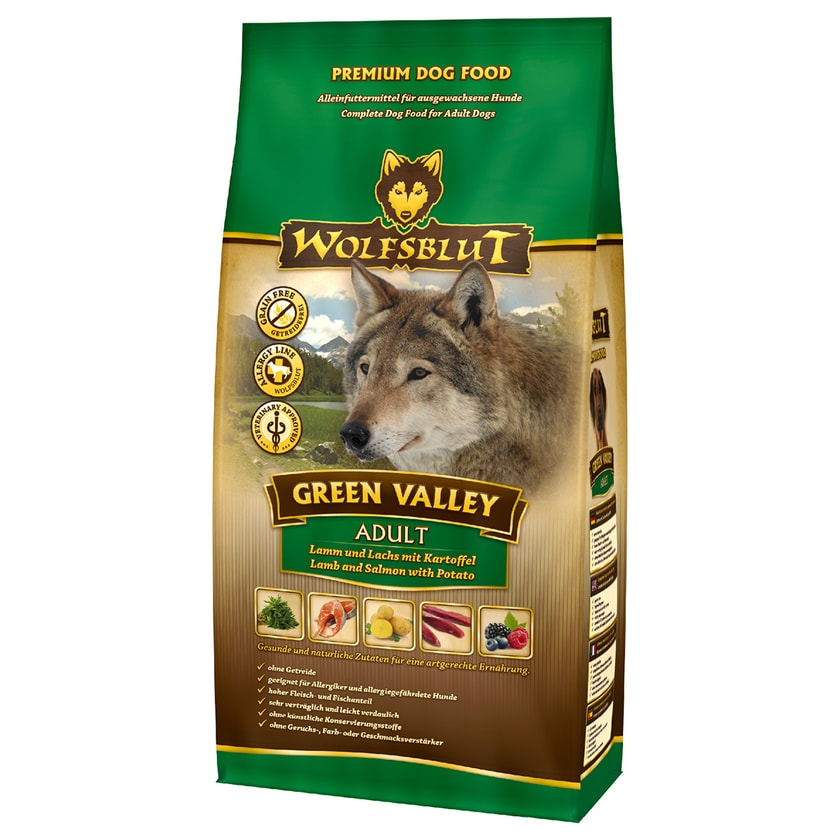 Wolfsblut Hundefutter Green Valley Adult