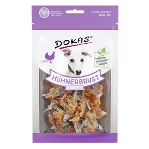 Dokas Hühnerbrust mit Fisch Hundesnack 70g
