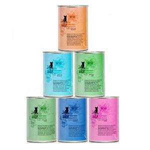 catz finefood - Multipack Dosen No. 15-25 Katzenfutter 6x400g