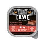 Crave Adult Pastete mit Lachs und Truthahn