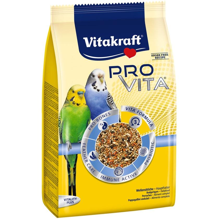 Vitakraft Vogelfutter Pro Vita Wellensittich 800g