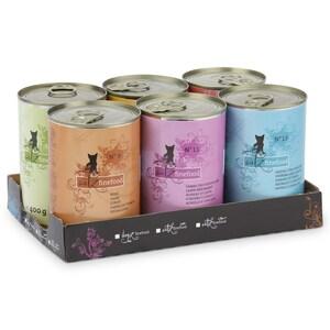 catz finefood - Multipack Dosen No. 3-13 Katzenfutter 6x400g