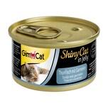 GimCat ShinyCat Thunfisch mit Garnelen 6x70g