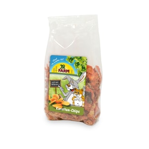 JR Farm Karotten-Chips 125g Kaninchenfutter