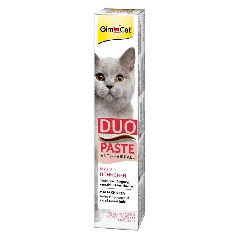 GimCat Anti-Hairball-Duo-Paste Hühnchen + Malz 50g